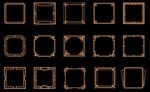 几何装饰艺术框架