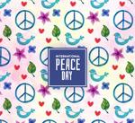 国际和平日背景