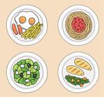 美味盘装菜品