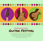 吉他音乐节海报