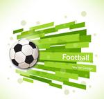 创意足球背景