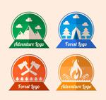 森林探险标志