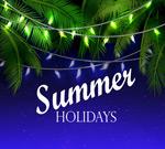夏日假期彩灯