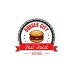 汉堡包主题标志