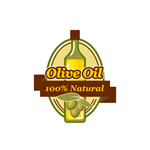 橄榄油标志矢量