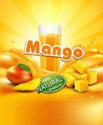 芒果和芒果汁