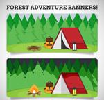 森林探险banner