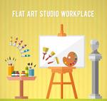 工作室绘画工具