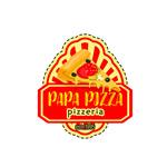 披萨标志矢量