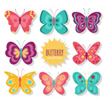 8款创意蝴蝶