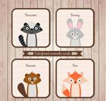 动物头像卡片