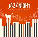 爵士乐音乐会海报