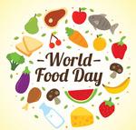 世界粮食日贺卡
