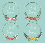 创意花卉框架