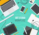 美术工作室桌面
