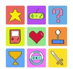 数码游戏元素图标
