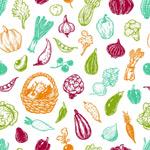 多彩果蔬背景
