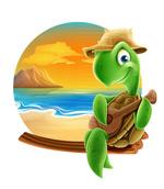 海龟弹尤克里里