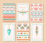 部落文化元素卡片