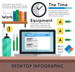 桌面商务信息图