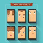 手机内人物头像