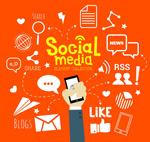 创意社交媒体元素