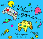 电子游戏元素背景