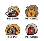彩绘宠物店标志