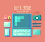 创意博客元素