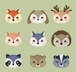 可爱动物头像