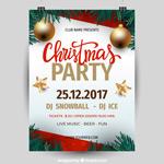 圣诞Party海报