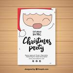 可爱圣诞派对海报