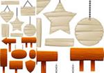 木质标牌指示牌
