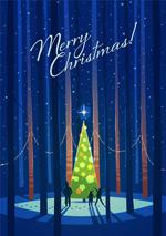 圣诞树创意矢量