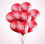 SALE销售气球束