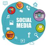 社交媒体插画