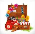 旅行箱和物品