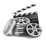 场记板和电影胶片