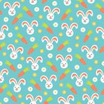 兔子和胡萝卜背景