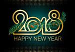 2018新年创意矢量
