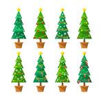 圣诞树盆栽