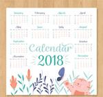 2018可爱猫咪年历