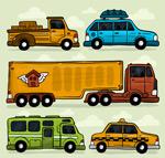 5款彩绘车辆