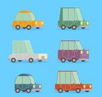 彩绘可爱车辆