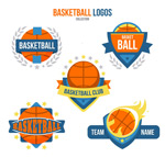 彩色篮球标志