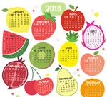 2018水果年历