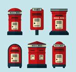 红色信箱设计