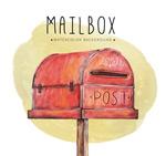 复古红色信箱