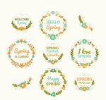 春季花卉标签