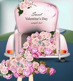 情人节玫瑰花束